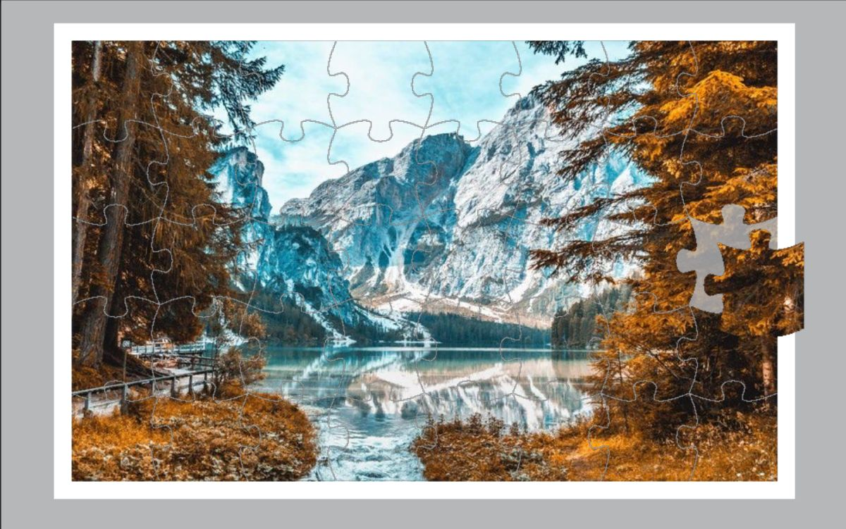 Create a Jigsaw Board from an Existing Image