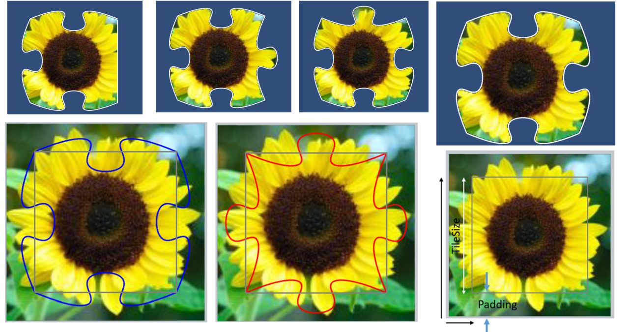 Create a Jigsaw Tile from an Existing Image